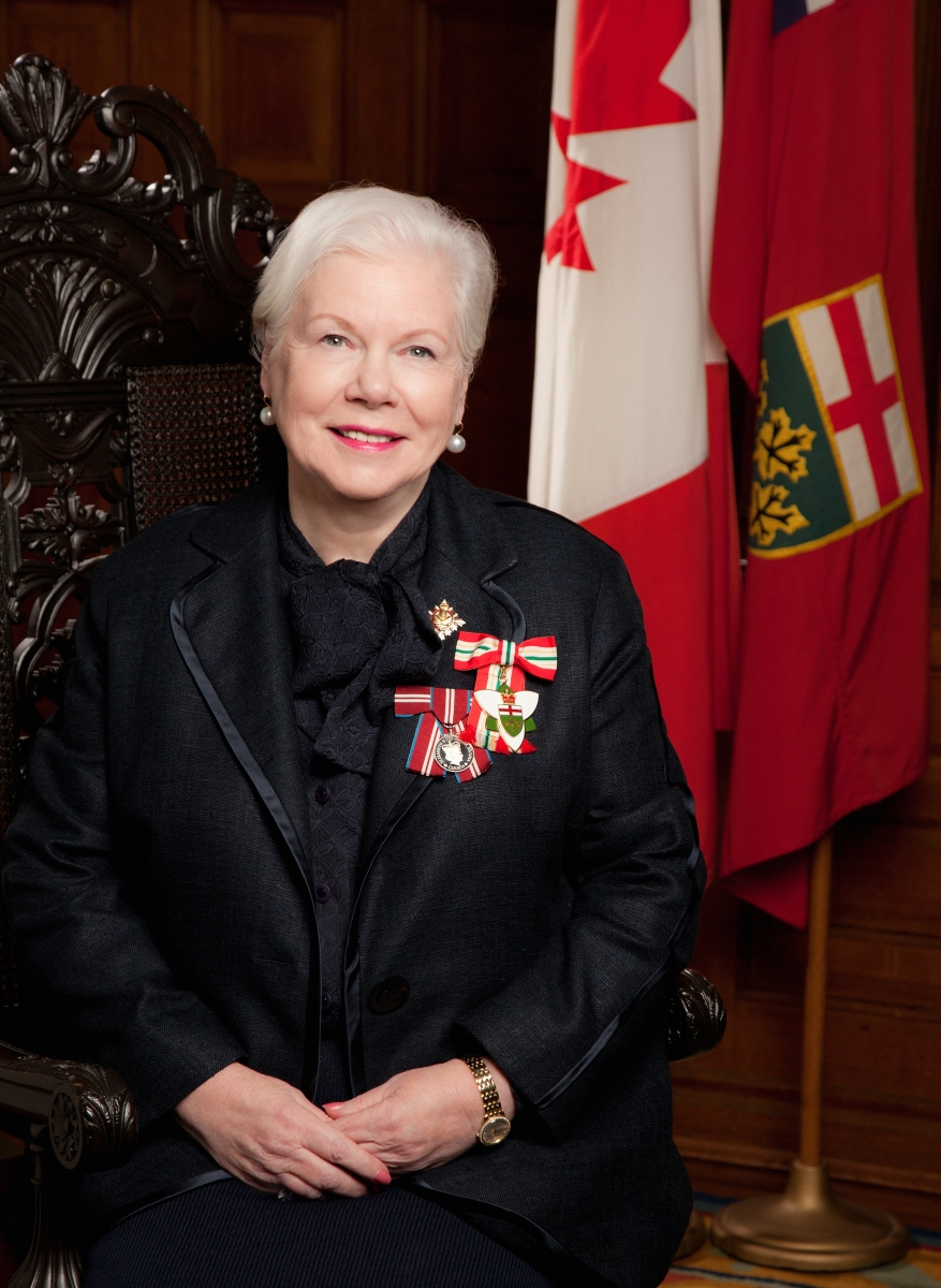 Her Honour the Honourable Elizabeth Dowdeswell, Lieutenant Governor of Ontario