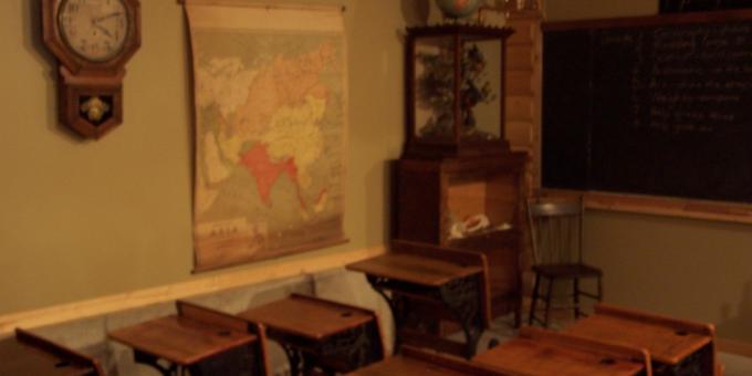 1900's Classroom