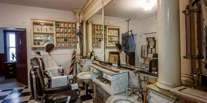 1900s Callander Barber Shop