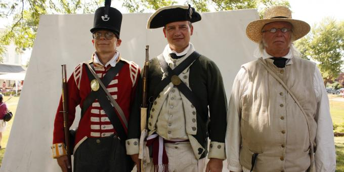 War of 1812 Re-Enactors at Canal Days