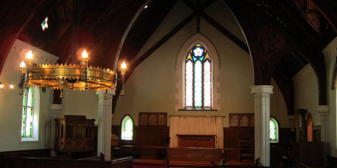 Interior of Historic Chapel