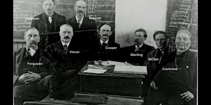 Early Council men