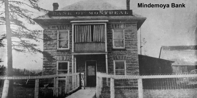 Bank of Montreal Mindemoya, Manitoulin Island.