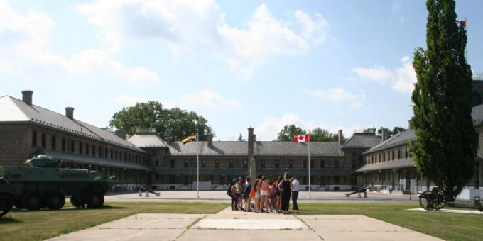 Visit Wolseley Barracks