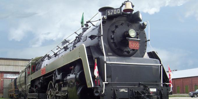 CNR 5700 Steam Engine