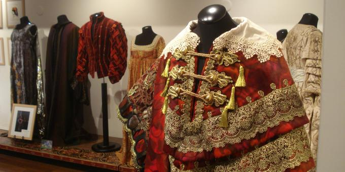 Costumes at the Festival Exhibition