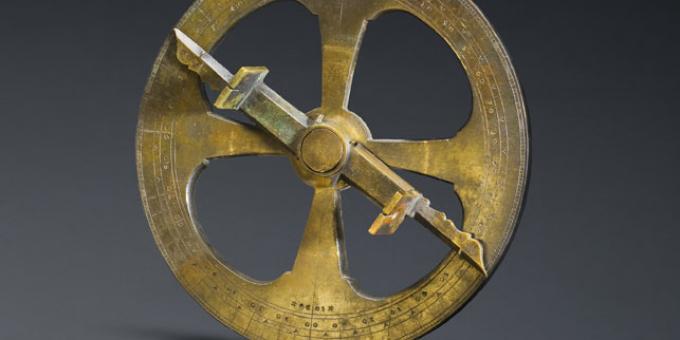 Samuel de Champlain's Astrolabe