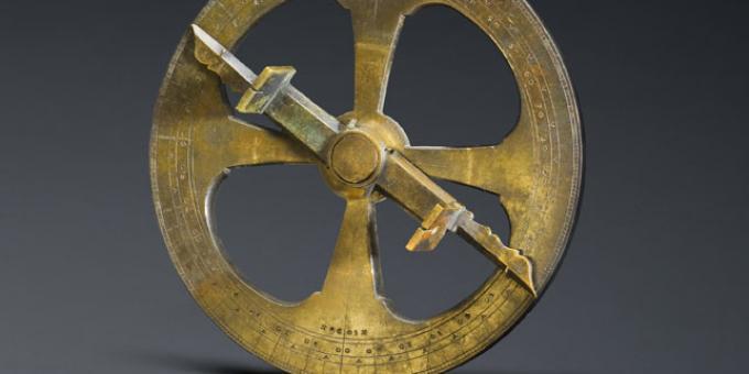 L'astrolabe de Champlain