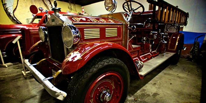 1929 Bickel Fire Truck