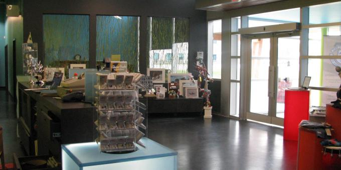 Front entrance - gift shop - Timmins Museum