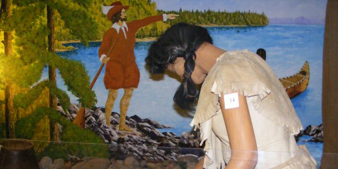 Algonquin First Nations Exhibit