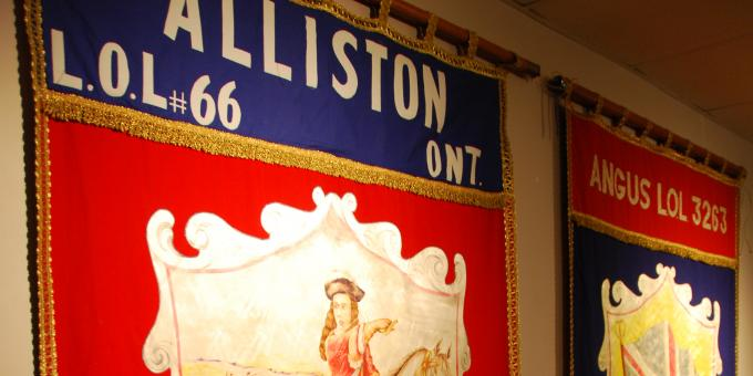 Check out the Loyal Orange Lodge exhibit today!