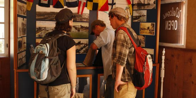 Exploring the Marine Heritage Exhibits