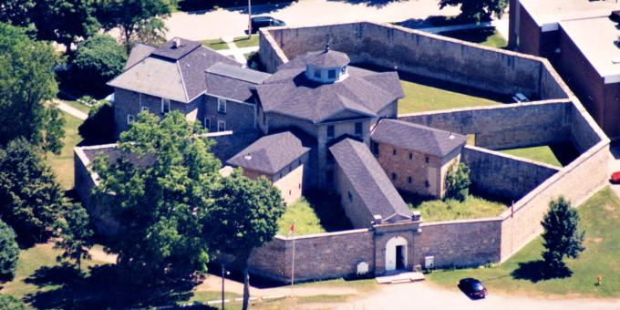Huron Historic Gaol Aerial View