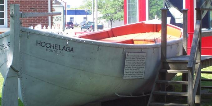 Lifeboat from the Hochelaga