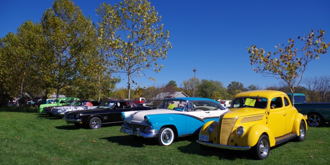 Annual Cars in the Park Vintage Car Show: Thanksgiving Monday