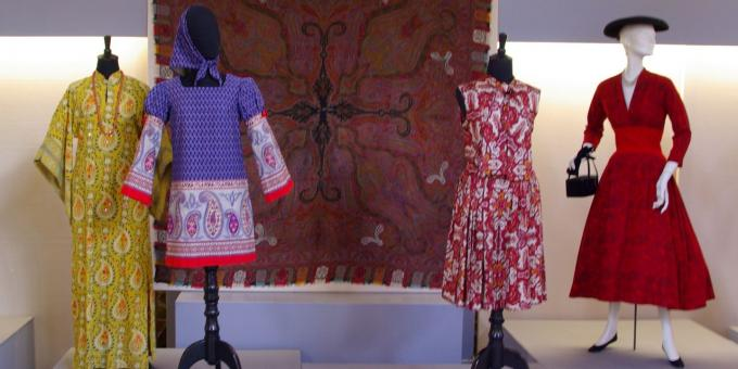 Paisley and Plaid: Recurring patterns in fashion, dresses from c. 1954-1968