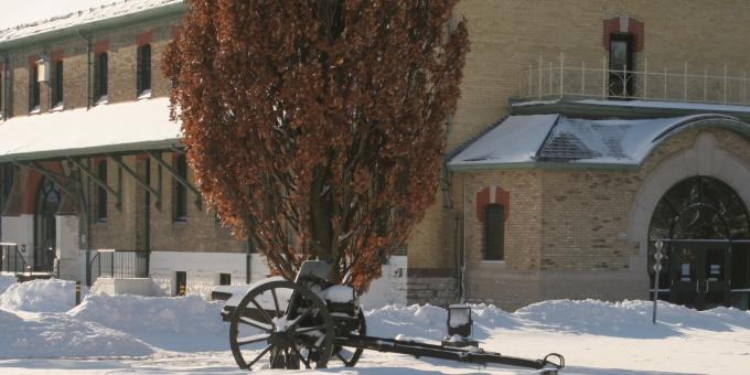 Winter at Wolseley Barracks