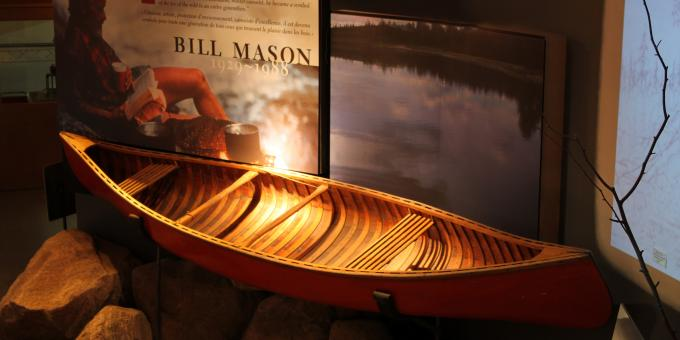 Bill Mason's Iconic Red Canoe