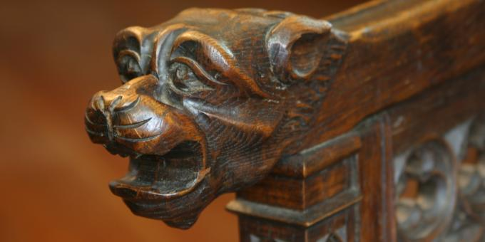 Carved Chair Arm