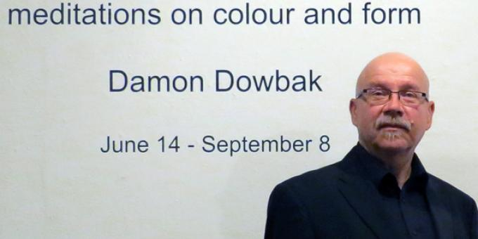 Damon Dowbak: meditations on colour and form