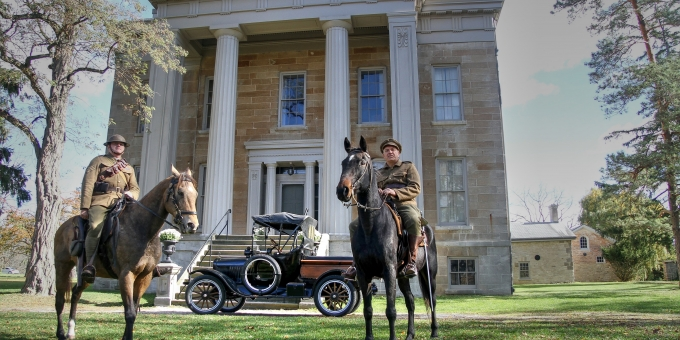 Autumn Events Include Reflections on Ruthven Park's Wartime Connections