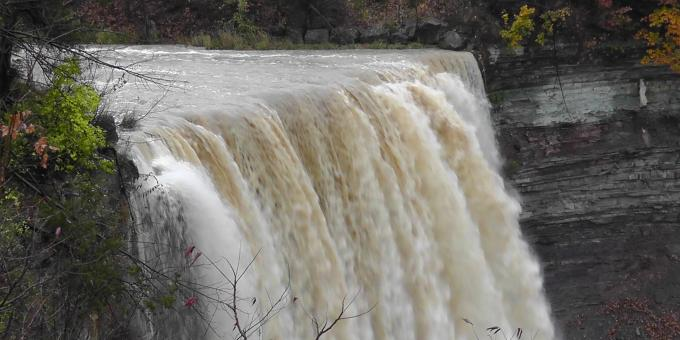 The Lower Falls at Ball's Falls Conservation Area in Jordan, Ontario