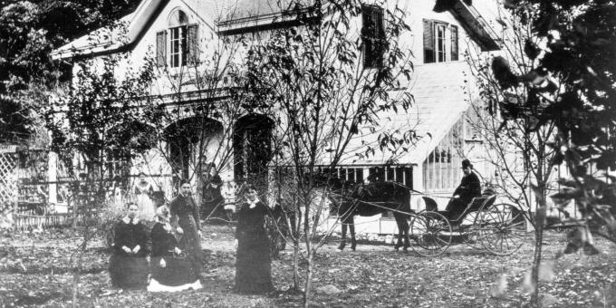 The Bell Homestead, 1870's