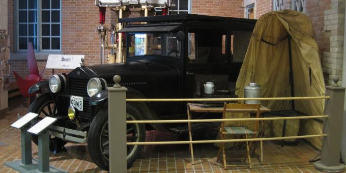 Huron County Museum - Mr. Neill's Collecting Car, 1925 Essex