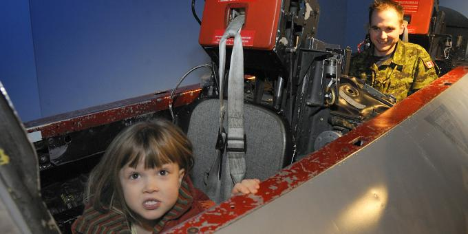 Feel Like a Pilot at the Canadian Forces Museum of Aerospace Defence!