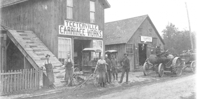 Teeterville Carriage Works