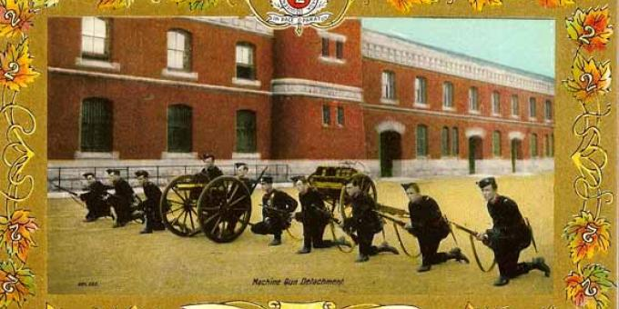 Queen's Own Rifles' Machine Gun Detachment circa 1901