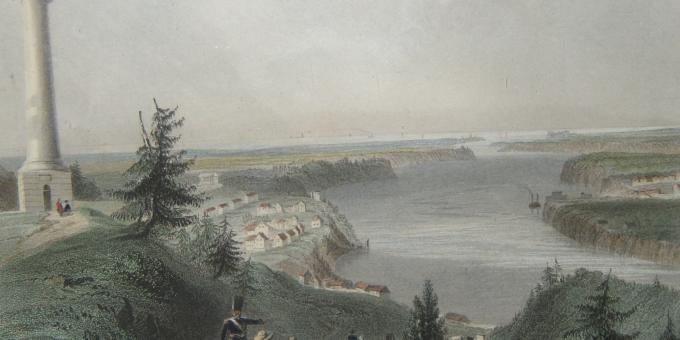 Brock's Monument- Queenston: Niagara on the Eve of War Exhibit