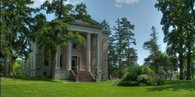 Ruthven Park's 1840s Greek Revival Thompson Family Mansion