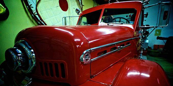 1952 Seagrave Fire Truck