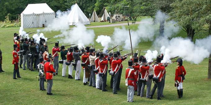 War of 1812 Re-enactment