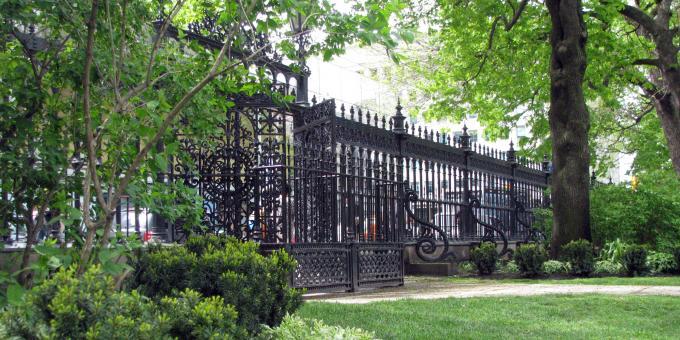 La célèbre clôture d'Osgoode Hall