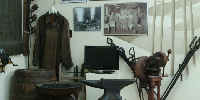 Forge Display in Industry Gallery