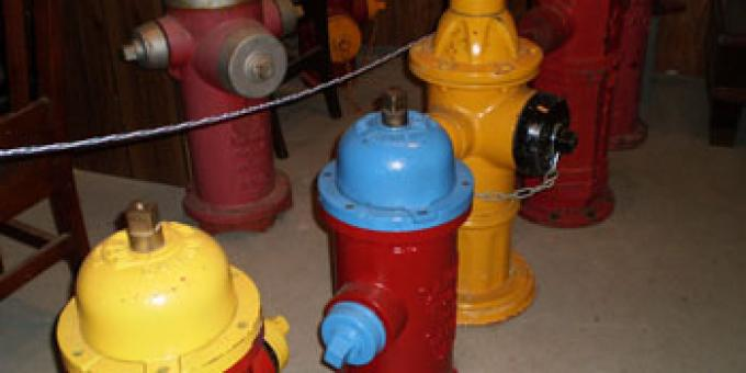 Some of our many hydrants