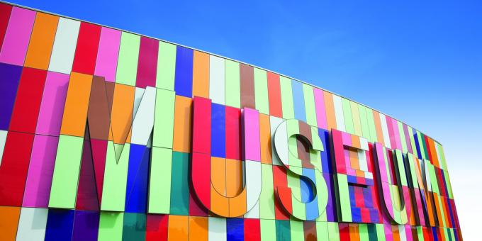 Waterloo Region Museum - Exterior Colour Wall