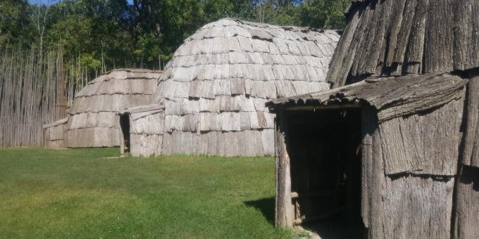 Ska-Nah-Doht Longhouses