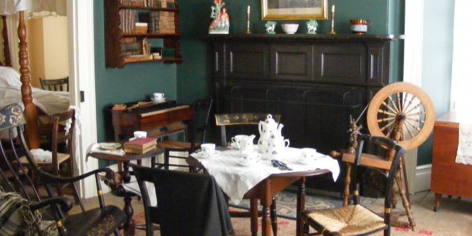Hutchison House Museum Parlour