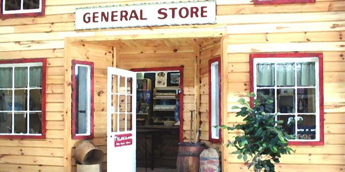 general store - heritage village