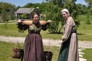 Summer Students in Moreston Heritage Village