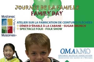 Family Day at Museopark Vanier: Arrow Sashes, Maple Brunch, and Folk Music!