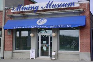 Cobalt Mining Museum Entrance