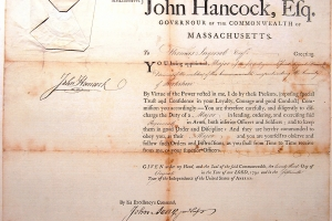 Original John Hancock signature