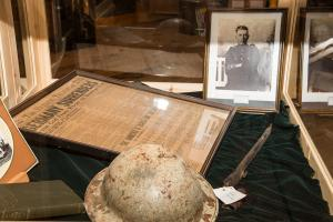 World War I Exhibit - Cloyne Pioneer Museum