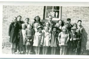 Salem School Class picture, 1930s