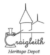 The logo of the Craigleith Heritage Depot